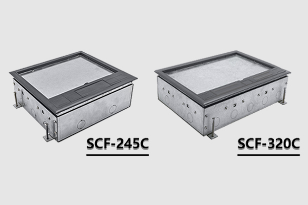 Concrete Underfloor power and data access gets easier with our latest range of floor boxes.