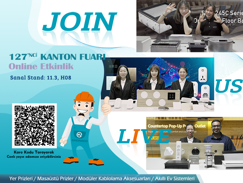 Don't miss out to join us in the 127th Canton Fair online event!